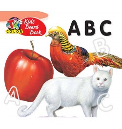 Tricolor Kids Board Books-ABC