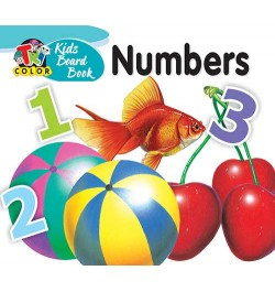 Tricolor Kids Board Books-Numbers