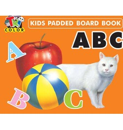 Buy Tricolor Kids Padded Board Books-ABC Online in India