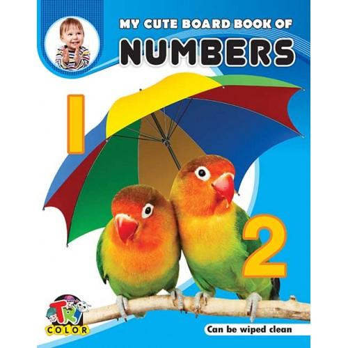Tricolor My Cute Board Book of Numbers