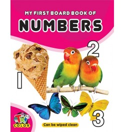 Tricolor My First Board Book of Numbers