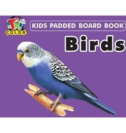 Tricolor Kids Padded Board Books-Birds