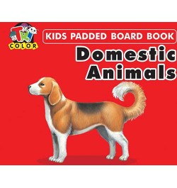 Buy Tricolor Kids Padded Board Books-Domestic Animals Online in India