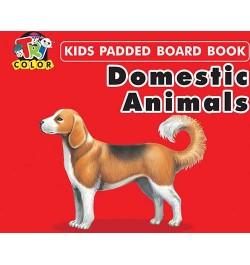 Tricolor Kids Padded Board Books-Domestic Animals