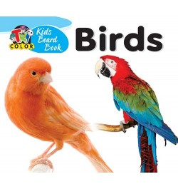 Tricolor Kids Board Books-Birds