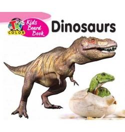 Tricolor Kids Board Books-Dinosaurs