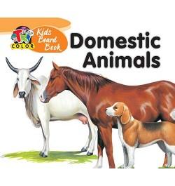 Tricolor Kids Board Books-Domestic Animals