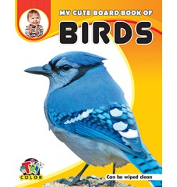 Tricolor My Cute Board Book of Birds