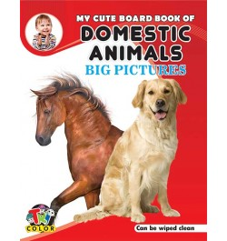 Tricolor My Cute Board Book of Domestic Animals
