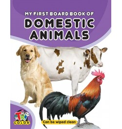 Tricolor My First Board Book of Domestic Animals