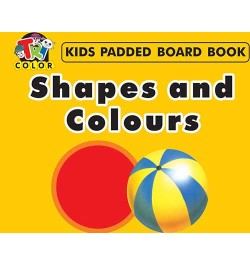 Tricolor Kids Padded Board Books-Shapes and Colours