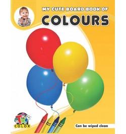 Tricolor My Cute Board Book of Colours