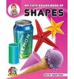 Tricolor My Cute Board Book of Shapes