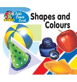 Buy Tricolor Kids Board Books-Shapes and Colours Online in India