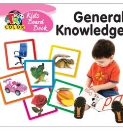 Tricolor Kids Board Book General Knowledge