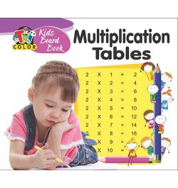 Buy Tricolor Kids Board Book Multiplication Tables Online in India