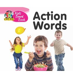 Tricolor Kids Board Books-Action Words
