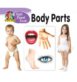 Tricolor Kids Board Books-Body Parts