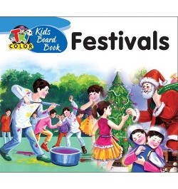 Tricolor Kids Board Books-Festivals