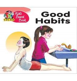 Tricolor Kids Board Books-Good Habits