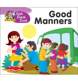 Buy Tricolor Kids Board Books-Good Manners Online in India