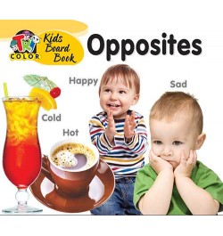 Tricolor Kids Board Books-Opposites