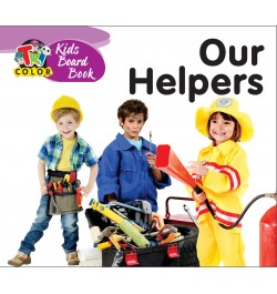 Tricolor Kids Board Books-our Helpers