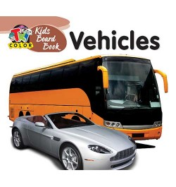 Tricolor Kids Board Books-Vehicles