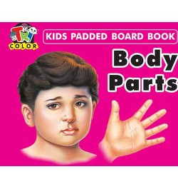 Tricolor Kids Padded Board Books-Body Parts