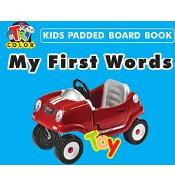 Tricolor Kids Padded Board Books-My First Words