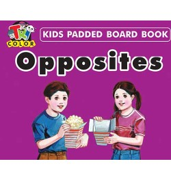 Buy Tricolor Kids Padded Board Books-Opposites Online in India