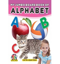 Tricolor My Jumbo Board Books-Alphabet