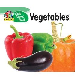 Tricolor Kids Board Books-Vegetables