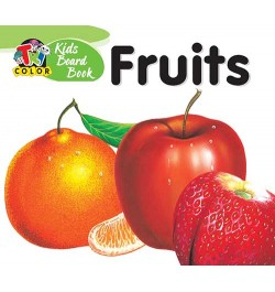 Tricolor Kids Board Books-Fruits
