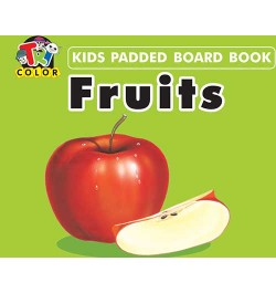 Tricolor Kids Padded Board Books-Fruits