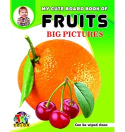 Tricolor My Cute Board Book of Fruits