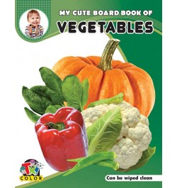 Tricolor My Cute Board Book of Vegetables