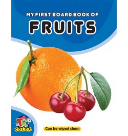 Tricolor My First Board Book of Fruits