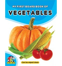 Tricolor My First Board Book of Vegetables