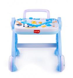 Buy Luvlap Baby Musical Activity Walker – Blue Online in India