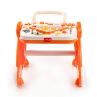 Luvlap Baby Musical Activity Walker – Orange
