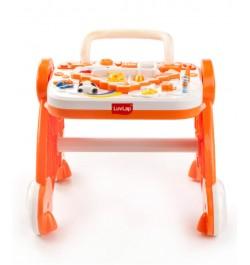 Buy Luvlap Baby Musical Activity Walker – Orange Online in India