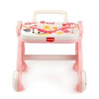 Luvlap Baby Musical Activity Walker – Pink