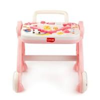 Luvlap Baby Musical Activity Walker – Pink