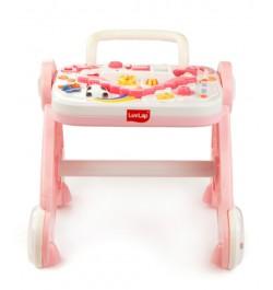 Buy Luvlap Baby Musical Activity Walker – Pink Online in India