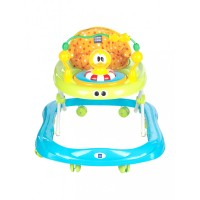 Mee Mee Simple Steps Baby Walker (Funny Duck) (Green)