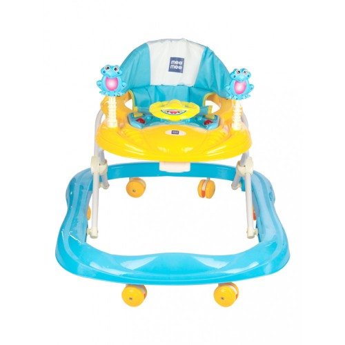 Mee Mee Simple Steps Baby Walker with Stopper (Blue)