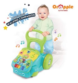 Buy Orapple Toys by R for Rabbit - 5 in 1 Learning Push Baby Walker Online in India