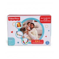 Fisher Price 3 in 1 Infant Deluxe Pack - Multicolor