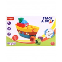 Giggles Stack A Boat (Color May Vary)